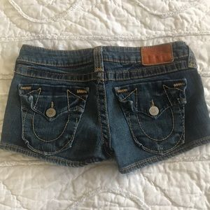 True Religion Denim Jean Shorts